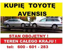 Kupię Toyotę Avensis D4D TD T22 Skup Toyot 2.0 Cały Kraj
