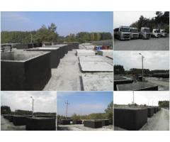 Szamba szambo betonowe zbiorniki betonowe na deszczówkę